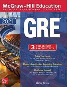 McGraw-Hill Education GRE 2021