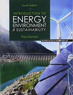 Introduction to Energy, Environment, and Sustainability