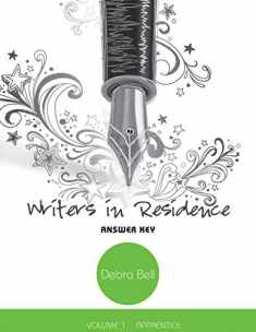 Writers in Residence, vol. 1 - Answer Key and Teaching Notes