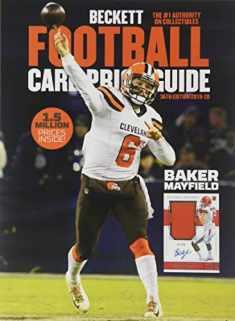 Beckett Football Price Guide #36 2019 Edition (Beckett Football Card Price Guide)