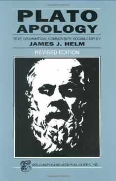 Plato: Apology (Greek Edition) (Greek and English Edition)
