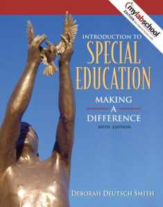 Introduction to Special Education: Making a Difference With Mylabschool