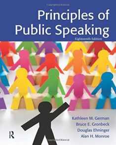Principles of Public Speaking (18th Edition)
