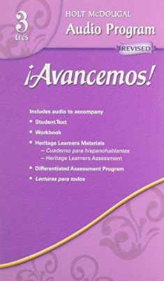 ¡Avancemos!: Audio CD Program Level 3 (Spanish Edition)