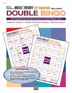 Alfred's Essentials of Music Theory: Key Signature Double Bingo (Major and Minor)