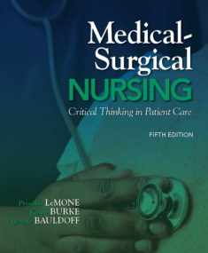 Medical-Surgical Nursing: Critical Thinking in Patient Care Plus New Mynursinglab with Pearson Etext (24-Month Access) -- Access Card Package