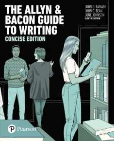 The Allyn & Bacon Guide to Writing, Concise Edition (8th Edition)