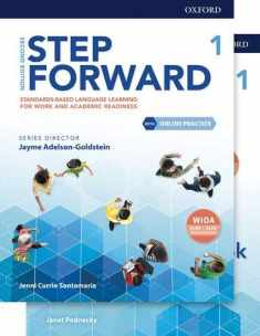 Step Forward Level 1 Student Book and Workbook Pack with Online Practice: Standards-based language learning for work and academic readiness (Step Forward 2nd Edition)