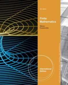 Finite Mathematics, International Edition