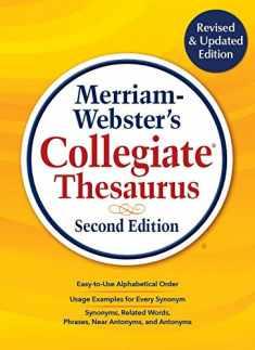 Merriam-Webster's Collegiate Thesaurus, Newest Edition, 2019 Copyright