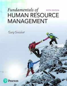 Fundamentals of Human Resource Management (What's New in Management)