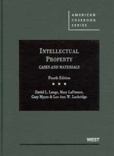 Intellectual Property, Cases and Materials, 4th (American Casebook)