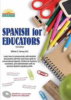 Spanish for Educators: with Online Audio (Barron's Foreign Language Guides)