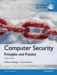 Computer Security Principles and Practice, Global Edition