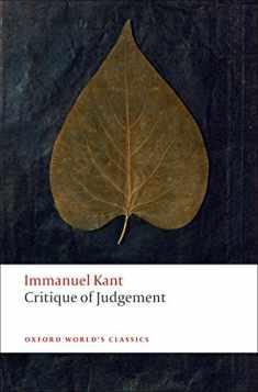 Critique of Judgement (Oxford World's Classics)