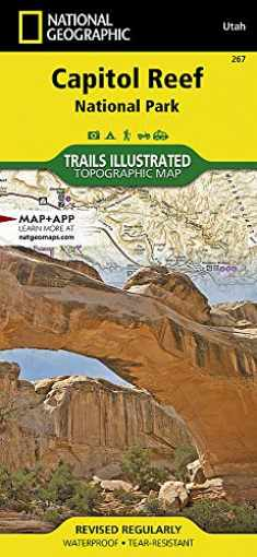 Capitol Reef National Park (National Geographic Trails Illustrated Map, 267)