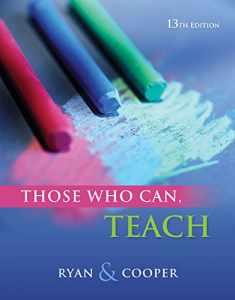Those Who Can, Teach