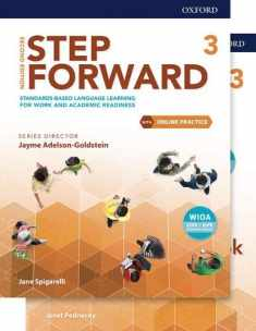 Step Forward Level 3 Student Book and Workbook Pack with Online Practice: Standards-based language learning for work and academic readiness (Step Forward 2nd Edition)