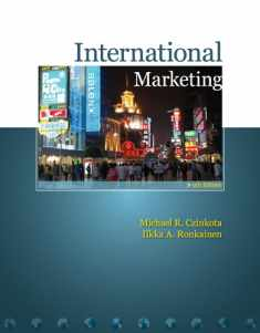 International Marketing (with InfoTrac)