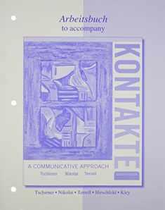 Workbook/Laboratory Manual for Kontakte