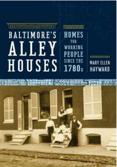 Baltimore's Alley Houses: Homes for Working People since the 1780s (Creating the North American Landscape)