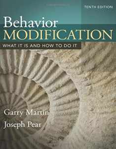 Behavior Modification (10th Edition)