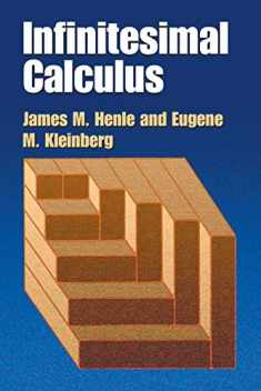 Infinitesimal Calculus (Dover Books on Mathematics)