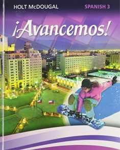 ¡Avancemos!: Student Edition Level 3 2013 (Spanish Edition)