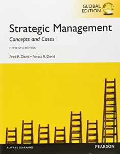 Strategic Management Concepts and Cases, Global Edition