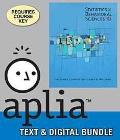 Bundle: Statistics for the Behavioral Sciences, Loose-leaf Version, 10th + Aplia, 1 term Printed Access Card