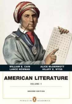 American Literature, Volume I (Penguin Academics Series) (2nd Edition)