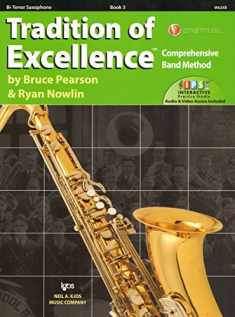 W63XB - Tradition of Excellence Book 3 - Tenor Saxophone