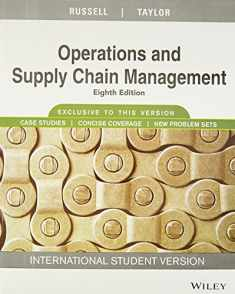 Operations and Supply Chain Management, Isv