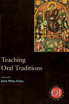 Teaching Oral Traditions (Options for Teaching)