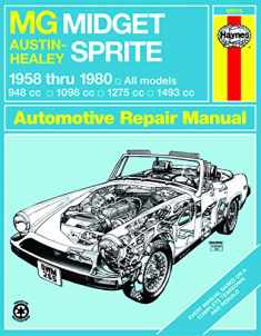 MG Midget & Austin-Healy Sprite (58-80) models covered MG Midget 1500 Roadster (
