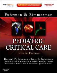 Pediatric Critical Care: Expert Consult Premium Edition – Enhanced Online Features and Print