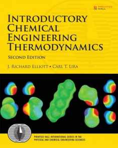 Introductory Chemical Engineering Thermodynamics (Prentice Hall International Series in the Physical and Chemi)