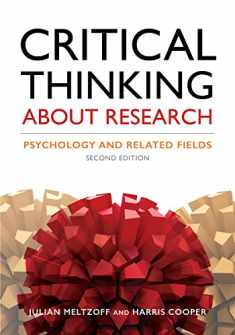 Critical Thinking About Research: Psychology and Related Fields