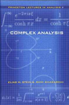 Complex Analysis (Princeton Lectures in Analysis, No. 2)