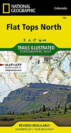 Flat Tops North (National Geographic Trails Illustrated Map, 150)