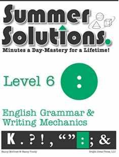 Summer Solutions English & Grammar Workbook (Level 6)