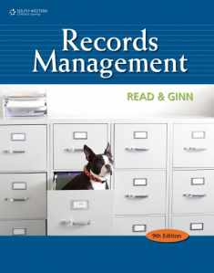 Records Management Student Instruction Manual