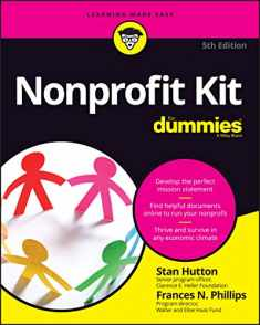 Nonprofit Kit For Dummies (For Dummies (Lifestyle))