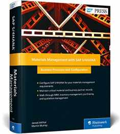 Materials Management with SAP S/4HANA (First Edition) (SAP PRESS)
