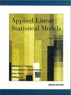 Applied Linear Statistical Models 5ed (Pb 2013)