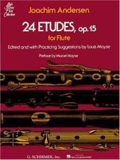 24 Etudes of Flutes, Op. 15 (Louis Moyse Flute Collection)