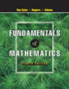 Fundamentals of Mathematics (with CD-ROM, Make the Grade, and InfoTrac) (Available Titles CengageNOW)