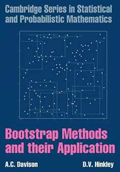Bootstrap Methods and their Application (Cambridge Series in Statistical and Probabilistic Mathematics, Series Number 1)
