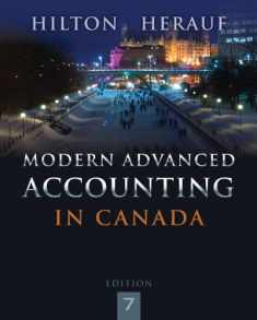 Modern Advanced Accounting in Canada 7e [Electronic]