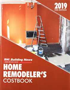 BNI Building News Home Remodeler's Costbook 2019 (Home Remodler's Costbook)